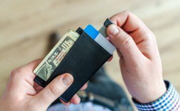 portfel dla mężczyzny